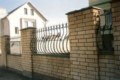 Кованый забор 7