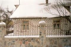 кованый забор 6