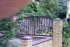 Кованый забор 5