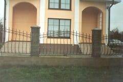Кованый забор 10